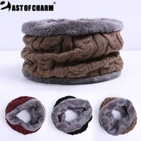 Wholesale Scarf Ring For Men - Wholesale-New Fashion Design Warm Winter Scarf For Men Scarves And Collar Bufanda Scarf Man Collar Cotton Fashion Scarf Drop Shipping