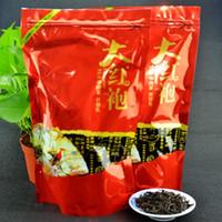 cuidado verde venda por atacado-250g Chinês Top Grade Da Hong Pao Chá Big Red Robe chá Oolong Original oolong chá Verde alimentos China cuidados saudáveis Dahongpao