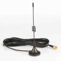 Wholesale Car Antenna For Walkie Talkie - Mobile Car Antenna Magnetic Roof Mount Base with 3m cable SMA-M Connector for walkie talkie two way radio