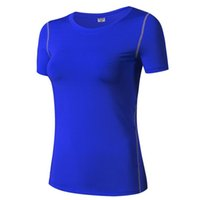 Donne Professional Sport yoga Vest Femmina Fitness Running Tight training Maglia a manica corta Sweat ad asciugatura rapida Abbigliamento