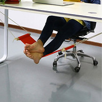 Portable Office Foot Hammock Mini Feet Rest Stand Desk Footrest Study Table Hang Leisure Hanging Chair