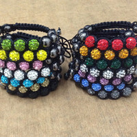 Quality Buy Cheap Free Shipping 100pcs Lose Money Sale Mixed Balla Beads 10mm Ab Clay Crystal Balla Disco Pave Crysta Balls Diy Bracelet Pendant Excellent In