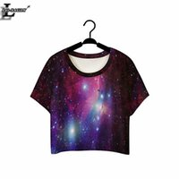 Wholesale-Lei-SAGLY The Beautiful Star Crop Top Short Sleeve T-shirts Fitness Women Clothes 2016 Summer Punk O-neck Harajuku T-Shirts F968