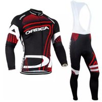 Wholesale orbea bike cycling long for sale - 2017 Pro Team ORBEA Cycling Clothing Long sleeves Autumn Spring Mem Cycling jersey MTB bike Ropa Ciclismo Cycle Sportswear Set