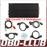 Wholesale Carsoft For Bmw - Best MB Carsoft 7.4 Multiplexer Read Erase All Fault Codes Read Ecu Information Free shipping