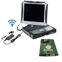 Wholesale Epc Laptops - newest mb star c4 software with toughbook cf-19 hdd 250gb ready to use das xentry epc wis in laptop touch screen