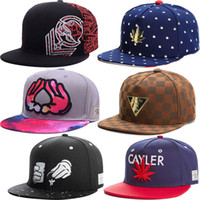 Wholesale Mens Baseball Snapback Hats - 1260 Styles Basketball Snapback Baseball Snapbacks All Team Football Snap Back Hats Womens Mens Flat Caps Hip Hop Caps Cheap Sports Hats