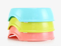 Wholesale Eating Dishes - Hot Free shipping Anti Choke Pet Dog Cat Feeding Food Bowl Puppy Slow Down Eating Feeder Food or Drink Water Bowl Dish