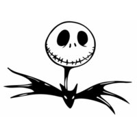 Wholesale Christmas Car Accessories - Nightmare Before Christmas Car Sticker Bat Vinyl Car Styling Cool Car Body Decal Motorcycle Exterior Accessories JDM