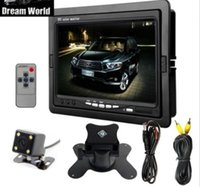 """Wholesale Night View System - 7"""" TFT LCD Monitor Car Rear View System Back Up Reverse Camera Night Vision"""
