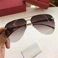 Wholesale french fashion designer brands for sale - Group buy Fashion Men Brand Designer To French Luxury Sunglasses With Leopard Pilots Metal Classic Frame Color Wrapping Legs UV Protection Sunglasses