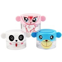 Wholesale Medicine Pill Cutter - Cute Cartoon Pill Pulverizer Tablet Grinder Baby Kids Medicine Cutter Crusher Storage Case Compartment Box Free Shpping ZA2157