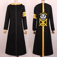 Wholesale Trafalgar Law S Coat - ONE PIECE Cosplay Trafalgar Law coat cosplay cosumes