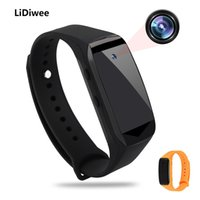 Mini Câmera de Vigilância, Gravador Digital. 1920x1080P HD Spy Camera Watch Portable Hide, Smart Bracelet Spy Network Surveillance Camera