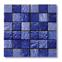 square parquet flooring - Glossy mosaic flooring tiles popular ice crack ceramic swimming pool tiles Bathroom Kitchen wall tiles two mixed colors optional LSBL4805