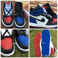 """Wholesale Picking Shoe - 2016 New Retro 1 High OG """"Top 3"""" Pick Mens Basketball Shoes Quality AAA 555088-026 Athletic Sport Sneakers Eur 40-47 US 7-13"""