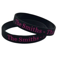 Wholesale Queen Show - Hot Sell 1PC The Smiths - The Queen Is Dead Silicone Bracelet, Show Your Spport By Wearing This Eye-catching Wristband
