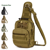 Wholesale Tactical Backpack Sizes - Men and women tactical chest pack riding, single shoulder backpack, hamburger chest bag, four with outdoor shoulder bag, X201 big size