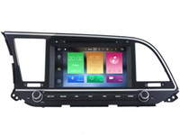 Wholesale Dvd Player For Hyundai - Navirider 2GB ram 32gb ROM octa core Android 6.0 Car DVD player GPS for HYUNDAI ELANTRA 2016 2017 stereo head units DVR RADIO 3G GPS NAVI