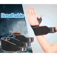Wholesale Wrist Hand Brace - High End Weight Lifting Fitness Bandage Hand Wrist Straps Sport Wristbands Support Wrist Protector Carpal Tunnel Brace Gym Wraps