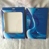 ipad mini kutu perakende ambalaj toptan satış-Perakende Paketi Için Fit Ipad 2 3 4 / Hava Hava 2, iPAD 5 6 / Mini Tablet Deri Çanta Kılıf Asmak Moda Evrensel Kağıt + PVC PC Ambalaj Kutu Çanta