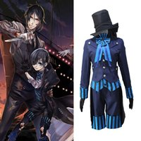Anime Black Butler Kuroshitsuji Buch des Atlantischen Ciel Phantomhive Uniform Cosplay Kostüm Full Set Halloween Party Uniform