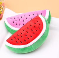 Wholesale Watermelon Pen Case - Red Practical Case Volume Watermelon Kids Pen Pencil Case Gift Cosmetics Purse Wallet Holder Pouch For Student Officer