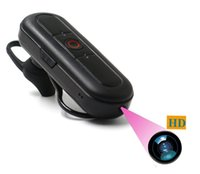 Wholesale Iphone Bluetooth Spy Camera - HD 1080P Hidden Camera Wireless Bluetooth Earphone Mini Spy Camcorder With High-Performance Bluetooth Headset Photo Taking Function