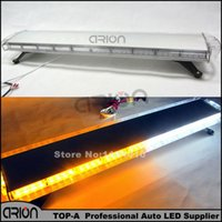 Wholesale Red Emergency Led - High Quality 88W Car Truck Vehicle Work LightBar 88 Led emergency strobe lights Flashing Lamps 12V 24V Yellow Amber White