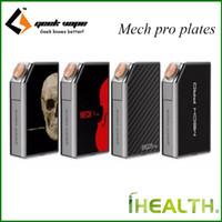 Wholesale Pro Choose - Original GeekVape MECH Pro Cover Plates Replaceable for MECH Pro 4 different colors are avaiable choose one for MECH Pro