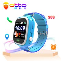 Wholesale Orange Smart Cell Phone - New Products Q90 Latest GPS Tracker Kids Cell Mobile Phone Wrist Smart Watch With Sim Card