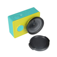 Wholesale cap yi camera for sale - KIngma Durable Protective Lens Cap Cover mm Lens UV Filter protection Glasses For Xiaomi Xiao Yi Sport Action Camera Black