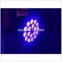 Wholesale 5in1 Led Par - High Brightness 18x15W Led Par Light RGBWU 5in1 DMX Professional Lighting Indoor Stage Lights DJ Equipment Par Led
