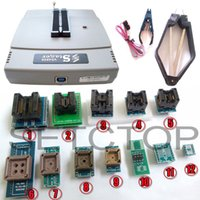 Wholesale Bmw Usb Socket - VS4800 USB High Speed Universal Programmer GAL EPROM FLASH 51 AVR PIC MCU SPI with 48pin ZIF socket,support 15000+, +12 adapters
