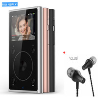 Wholesale Dual Mode Watches - Wholesale- FIIO X1 2nd gen 192 kHz 32bit Dual mode Bluetooth 4.0 portable high resolution lossless music player PCM5242 D A+Free Earphone