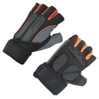 Wholesale men dumbbell - Fitness Gloves Men And Women Breathable Sports Gloves Dumbbell Device Strength Training Half Finger Glove 3639