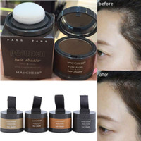 Wholesale Powdered Fruit Wholesale - MAYCHEER Hair Line Shadow Powder Rosa Canina Fruit Oil Scalp Topical Shader And Thickener Long Lasting Waterproof Contour Palette Bronzer
