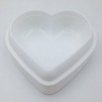 Wholesale bread bake pan resale online - Love Heart Shape Mousse Bread Mould Silicone Baking Pastry Cake Mold Bakeware DIY Non Stick Cake Pan