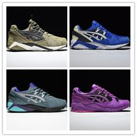 Wholesale Top Selling Cushion - 2017 Hot SELL Fashion Gel-Kayano 22 Cushioning Running Shoes Men Original Top Quality Boots Athletic Sport Sneakers 36-45