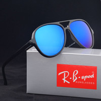 Fashion sports coat fashion - 2017 AAA Excellent Brand design Oval Sunglasses Women Men Anti uv400 Coating Glasses Male Mirrored Eyewear Sport Goggles with cases and box
