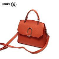 Wholesale Paper Clip Top - 2017 New Arrival Women Top Layer Cowhide Leather Bags Embossed Litchi Stria Tote Bag Fashion Paper Clip Shoulder Bags Cross Body