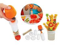 Wholesale Veggie Shredder - New Arrive Creative Kitchen Accessories Cooking Tools Plastic Fruit Shape Cutter Slicer Veggie Food Decorator Fruit Cutter LLFA