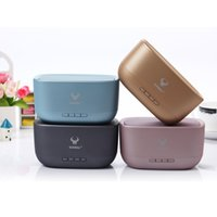 Wholesale Mp3 Speaker Cases - metal case Outdoor Bluetooth Speakers Hands free Small Portable Speakers For iphone DS-7604 support TF USB slot Aux input
