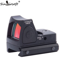 Wholesale 2016 New Red Dot Style Sight Scope Tactical Adjustable Red Dot Sight Scope for Rifle Scope Hunting picatinny rail Shooting Riflescopes