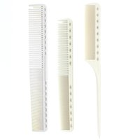Wholesale Hairdressers Kit - tail Japan Resin Unbreakable Hairdressing YS Park Hairdresser Cut Kit Professional Hair Cut And Barber Tail Comb Set