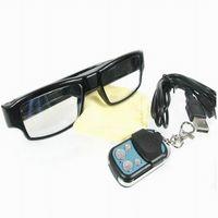Wholesale eyewear mini camera online - New Remote control Full HD P Glasses camera change battery Digital Video Camera Eyewear DVR Camcorder Mini DV USB Disk