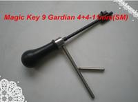 Wholesale Product Keys - free shipping NEW PRODUCT MAGIC KEY 09 for Guardian 4+4, Elbor-Lazurit- 11 mm (SM) master key decoder locksmith tools