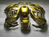 Wholesale f3 1997 1998 fairings resale online - Free gifts fairing kit for Honda CBR600F3 gold fairings set CBR600 F3 OT30