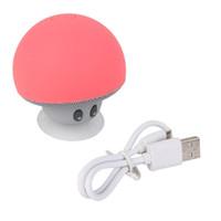 Wholesale Mini Bluetooth Mushroom Speakers - Mini Cute Mushrooms Style Bluetooth Speaker
