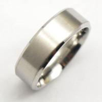 réglages de la bande d'engagement achat en gros de-Mode Casual New acier inoxydable pas cher bague de fiançailles paramètres bande anneaux dessins avec brillant bijou jamais ternir